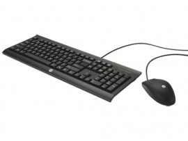 NEW HP C2500 Desktop Keyboard English Hebrew Mouse Combo Kit USB Wired H3C53AA