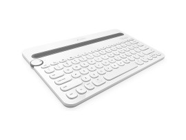 Logitech K480 White MULTI-DEVICE KEYBOARD English Hebrew BT iPad iPhone Android