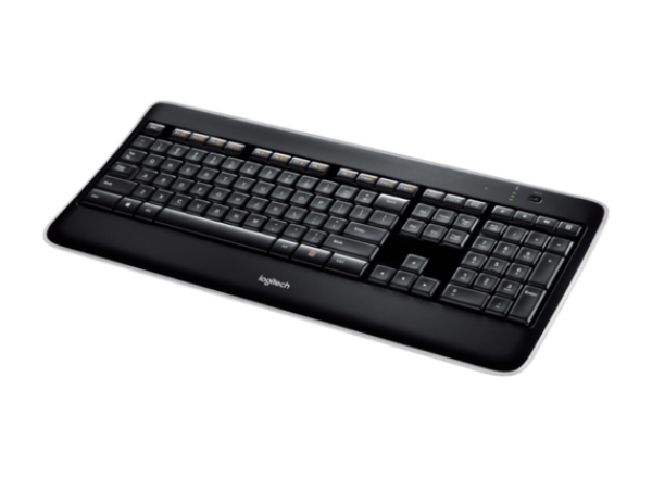 Logitech K800 Illuminated Wireless 2.4GHz Keyboard ADJUSTABLE BACKLIGHT Unifying