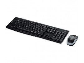 Logitech MK270 Wireless Keyboard Mouse Combo English Hebrew Keypad PC Computer