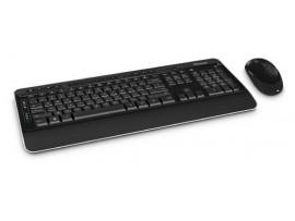 Microsoft Wireless Desktop 3050 Keyboard Mouse Combo English Hebrew PP3-00015