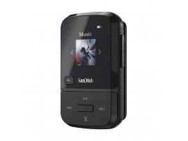 SanDisk Clip Sport Go 32GB Black MP3 Player LCD screen FM RADIO Voice Recorder