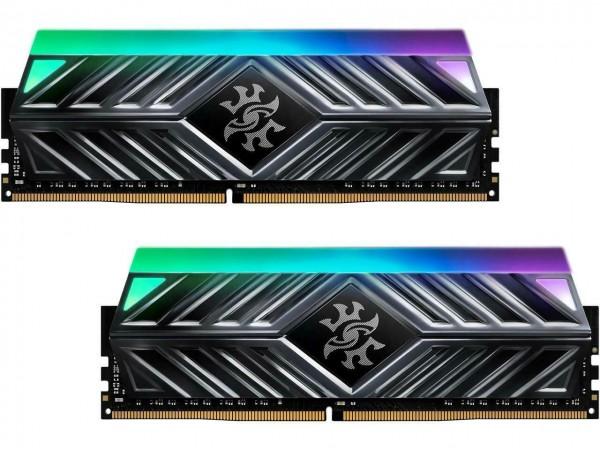 NEW ADATA XPG SPECTRIX D41 RGB 16GB 2X8GB DDR4 3200MHz Memory RAM AX4U320016G-DT