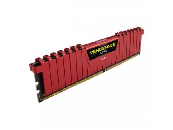 CORSAIR Vengeance LPX Red 8GB DDR4 2400mhz CL16 CMK8GX4M1A2400C16R Memory RAM