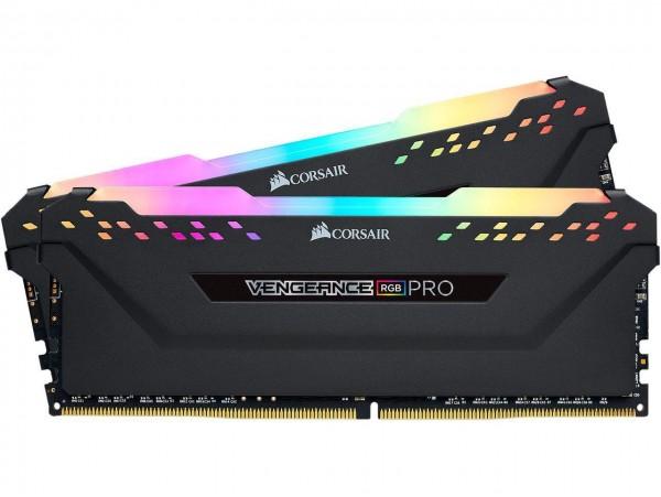 Corsair Vengeance RGB PRO 16GB 2x8GB DDR4 3200MHz MEMORY RAM CMW16GX4M2C3200C16