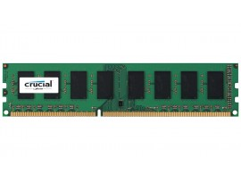 Crucial DIMM 4GB DDR3 1600Mhz PC3-12800 CL11 CT51264BD160B Desktop RAM Memory