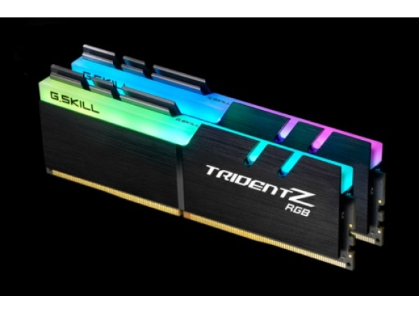 G.Skill Trident Z RGB 16GB 2x8GB DDR4 3000MHz CL15 F4-3000C15D-16GTZR Memory RAM