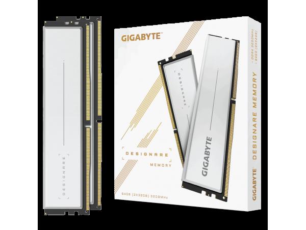 Gigabyte DESIGNARE 64GB 2x32GB 3200MHz PC4-25600 CL16 GP-DSG64G32 Memory RAM kit