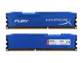 Kingston HyperX FURY 16GB (2x8GB) DDR3 1600MHz CL10 HX316C10FK2/16 Memory RAM