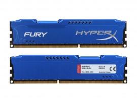Kingston HyperX FURY 16GB (2x8GB) DDR3 1600MHz CL10 HX316C10FK2/16 Memory RAM