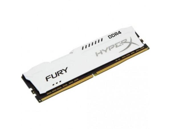Kingston HyperX FURY White 8GB DDR4 2400Mhz CL15 DESKTOP RAM Memory HX424C15FW/8