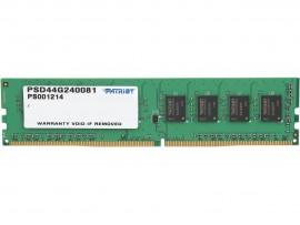 Patriot Signature Line 4GB DDR4 SDRAM 2400MHZ PC4-19200 Memory RAM PSD44G240081