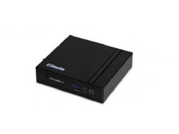 Giada F200 Mini PC Intel Celeron N2807 2.16GHz CPU 2G DDR3 On-board HDMI mSATA
