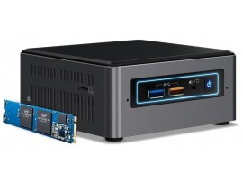 Intel NUC Mini PC Core i5-7260U 2.2GHz CPU BOXNUC7I5BNHX1 OPTANE memory 16GB M.2
