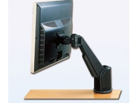 IPPON IPMA18101 Desk Single Monitor Arm Bracket Display Tilt Vesa 75x75 100x100