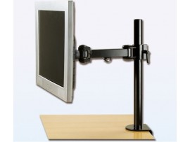 IPPON IPMA19102 Desk Single Monitor Arm Bracket Display Tilt Vesa 75x75 100x100
