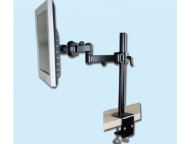 IPPON IPMA19103 Desk Single Monitor Arm Bracket Display Tilt Vesa 75x75 100x100