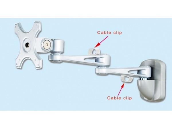 IPPON IPMA26103 Wall Mount Monitor Arm Bracket Display Tilt Vesa 75x75 100x100
