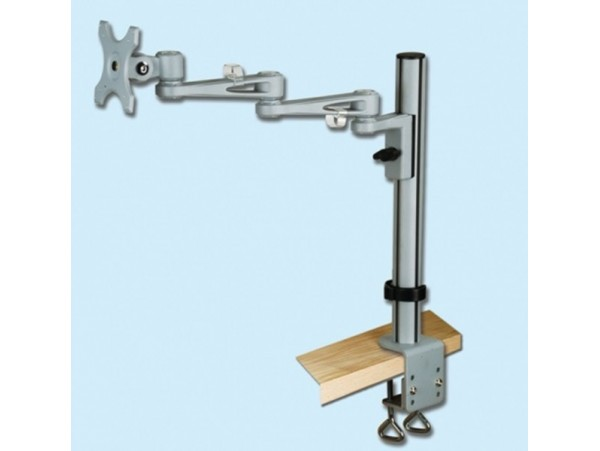 IPPON IPMA73103 Desk Single Monitor Arm Bracket Display Tilt Vesa 75x75 100x100