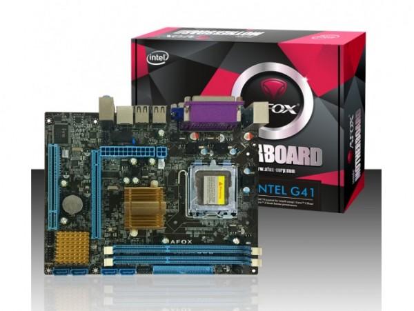 AFOX IG41-MA6 Motherboard CPU Pentium LGA775 Intel DDR3 VGA USB SATA2 IDE LAN