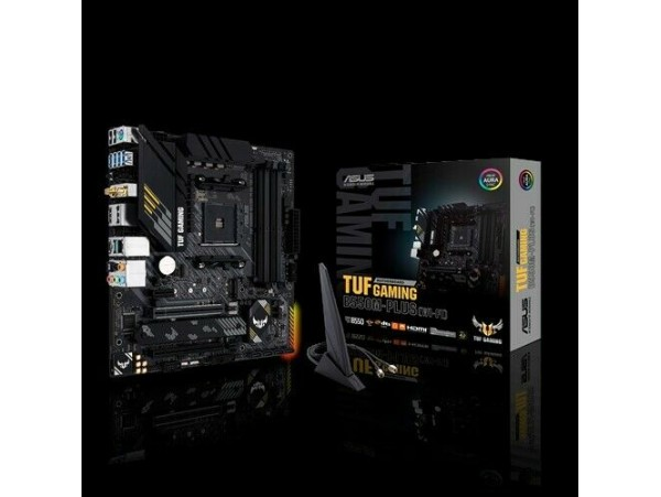Asus TUF GAMING B550M-PLUS WI-FI Motherboard CPU AM4 AMD Ryzen DDR4 HDMI USB 3.2