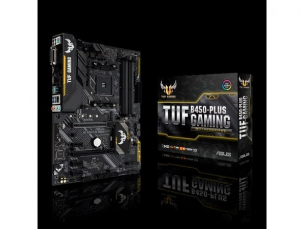 Asus TUF B450-PLUS GAMING Motherboard CPU AM4 AMD Ryzen DDR4 DVI HDMI USB 3.1