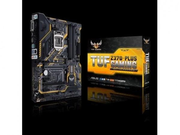 Asus TUF Z390-PLUS GAMING Motherboard CPU i3 i5 i7 LGA1151 Intel DDR4 RGB LED