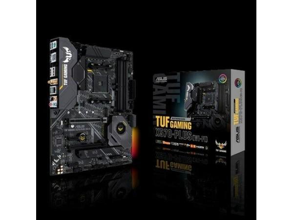 Asus TUF GAMING X570-PLUS Wi-Fi Motherboard CPU AM4 AMD Ryzen DDR4 Dual M.2 HDMI