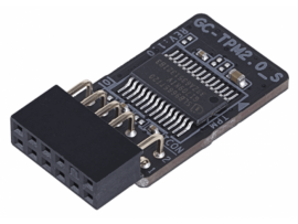 Gigabyte GC-TPM2.0_S 2.0 TPM Module Compute Securely bus header key Trusted Platform