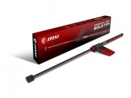 MSI GRAPHICS CARD BOLSTER GAMING SETUP Gas Spring Design Protect Motherboard