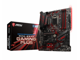 MSI MPG Z390 GAMING PLUS Motherboard CPU i3 i5 i7 LGA1151 DDR4 Intel HDMI DVI