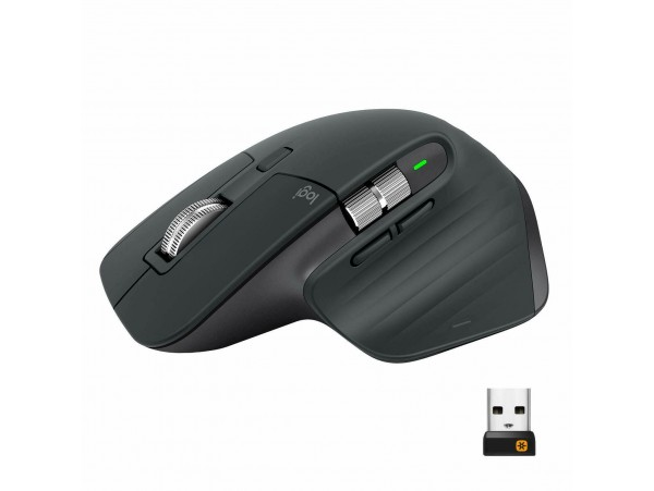 Logitech MX Master 3 Graphite Advanced 2.4GHz Wireless Mouse 1000dpi ANY SURFACE