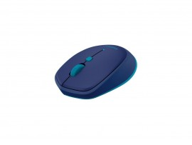 Logitech M535 Blue Bluetooth Wireless Mobile Mouse Win 10 MAC Android Chrome OS
