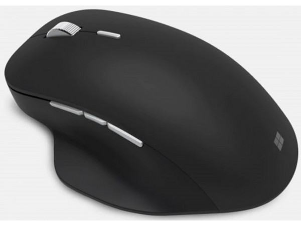 Microsoft Precision Mouse Black Wireless Bluetooth 6 buttons GHV-00013 Windows10