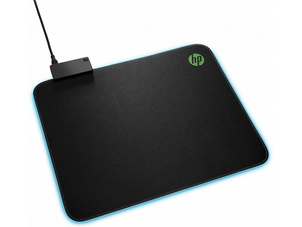 HP Pavilion Gaming Mouse Pad 400 colorful LED lighting 35x28cm Surface HP5JH72A