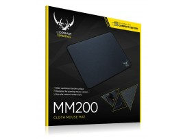 "Corsair MM200 Cloth Gaming Mouse Pad Small 26.5x21cm 10.4x11.8.2"" Size Control"