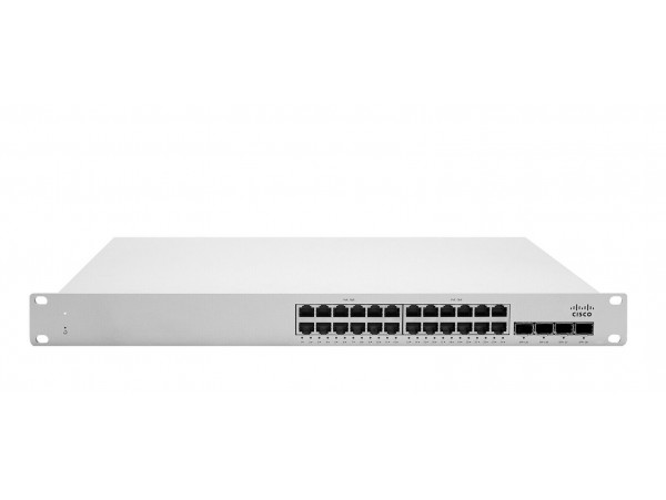 Cisco MS225-24P-HW Cloud-Managed Stackable Switching Branch 24 GigE 370W PoE SFP