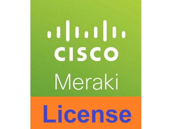 5 Year Cisco Meraki MX64W Advanced Security License and Support Cloud Controller