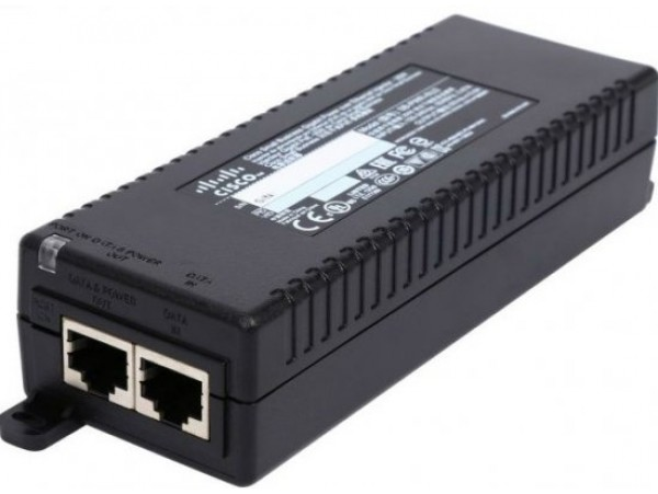 Cisco SB-PWR-INJ2 Small Business High Power Gigabit PoE Ethernet Injector 30W
