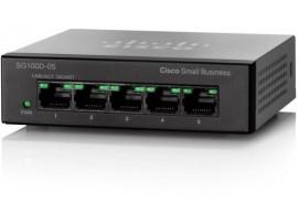 CISCO SG110D-05 Network SWITCH 5 Gigabit PORT 100/1000Mbps Ethernet LAN Desktop