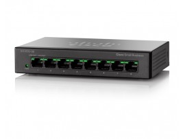 CISCO SG110D-08 Network SWITCH 8 Gigabit PORT 100/1000Mbps Ethernet LAN Desktop