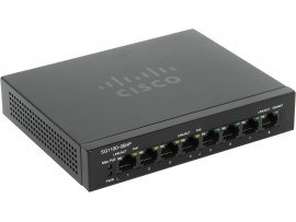 NEW Cisco SG110D-08HP-EU Network SWITCH 8-Gigabit PoE PORT 1000Mbps Ethernet LAN