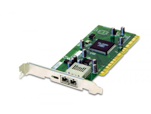 D-LINK DGE-550SX Network Adapter Fiber 1000BASE-SX PCI Card SC Gigabit Ethernet
