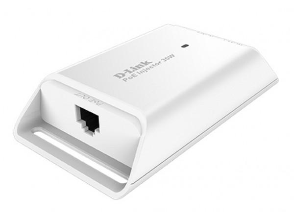 D-Link DPE-301GI 1-Port Gigabit LAN PoE Injector 30W output network camera RJ-45
