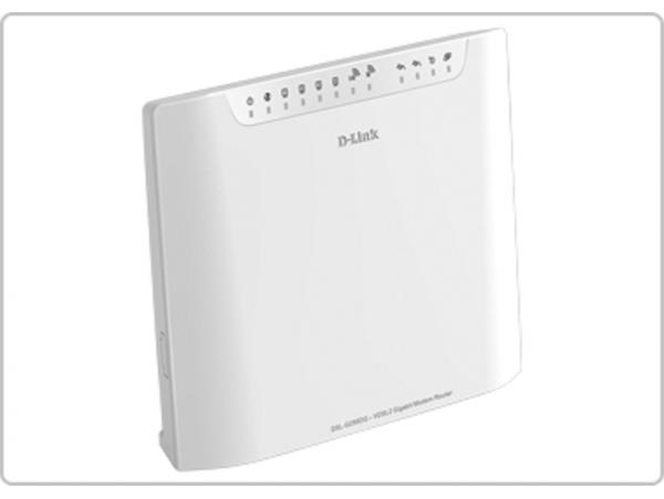 D-Link DSL-G256 AC1600 VDSL2/ADSL2+ Modem WiFi Dual Band 5GHz Router USB Port