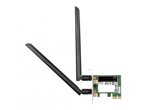 D-LINK DWA-582 Dual Band 5GHz WiFi Wireless AC1200 PCI-E Card 2x4.5dBi Antenna