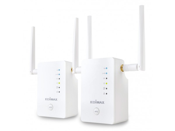 EDIMAX 2PCS KIT RE11S 5GHz Dual-Band Wi-Fi AC1200 Range Extenders ACCESS POINT