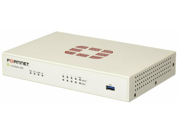 Fortinet FortiGate FG-30E Network Security UTM Firewall 5x GE RJ45 port Switch