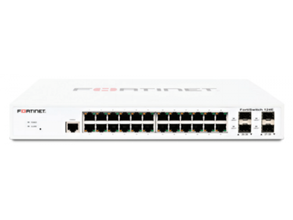 Fortinet FortiSwitch FS-124E Layer 2 FortiGate Switch 24xGE RJ45 LAN port SFP