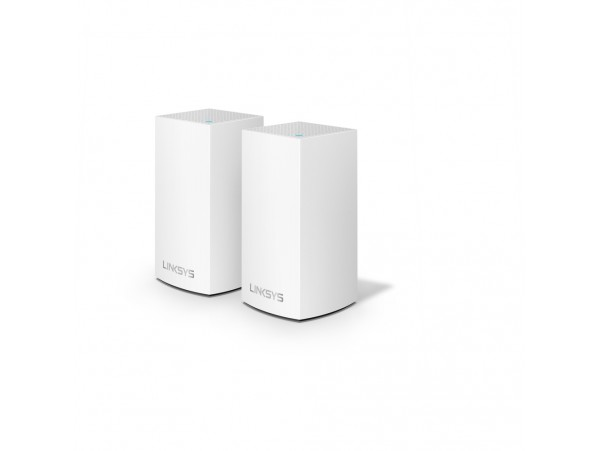 2-pack LinkSYS Velop Intelligent Mesh Whole Home Dual Band AC2600 Wi-Fi Router